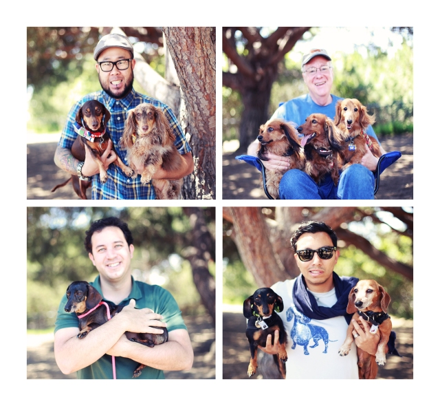 Doxie Dads | June 2013.  Photo by: Johnny Ortez-Tibbels ©