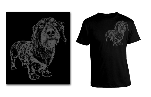 DOGS Summer 2014 Wirehair (Joey) tee option ©