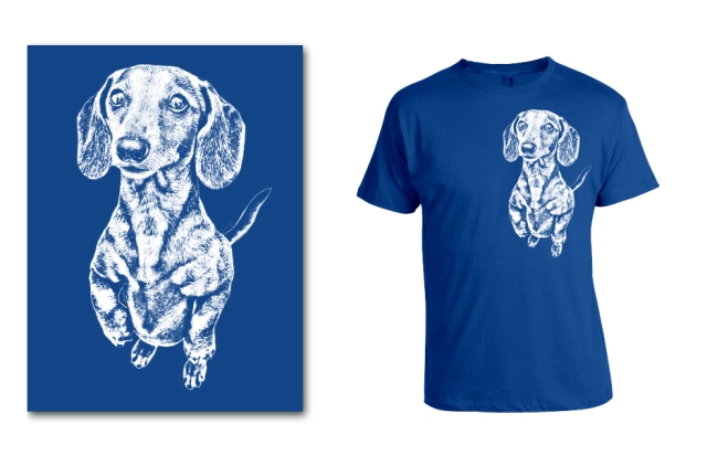 DOGS Summer 2014 Smooth (Rufus) tee option ©