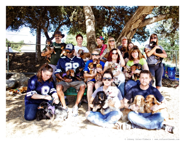LA Doxies Monthly Meetup   October 2014.  Photo by: Johnny Ortez-Tibbels ©