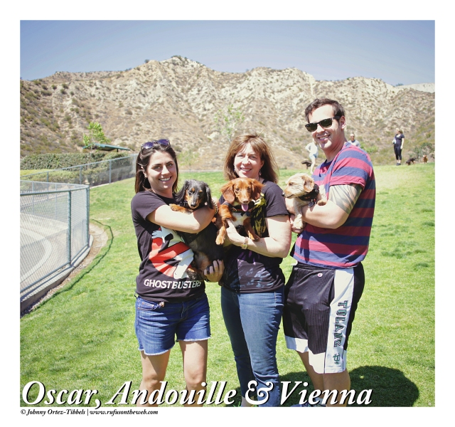 Oscar, Andouille & Vienna | April 2015.  Photo by: Johnny Ortez-Tibbels ©
