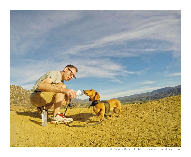 Marc & Milo hiking | December 2015. Photo by: Johnny Ortez-Tibbels ©