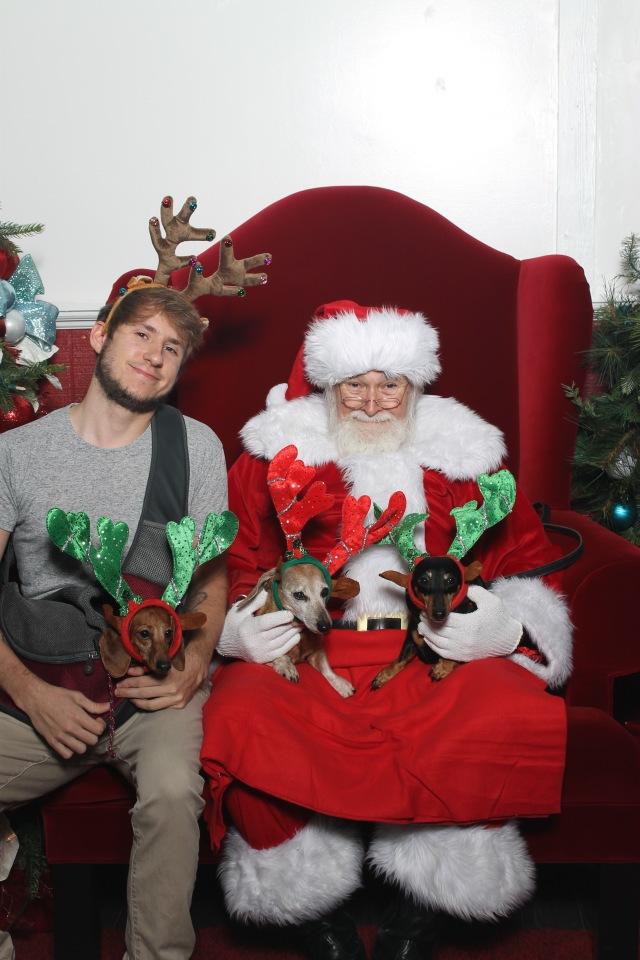 BEFORE Santa Picture