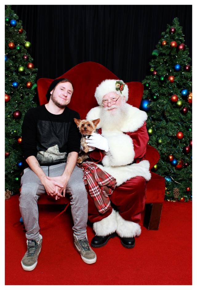 Sitting with Santa 2019